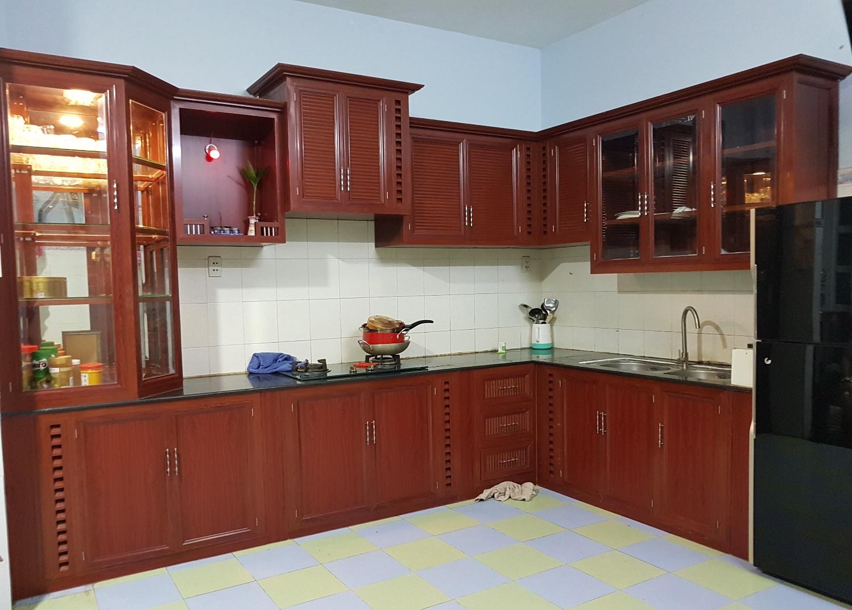 Tủ bếp cao cấp 04